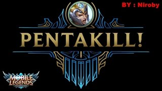 Mobile Legends - [REPLAY] Yun Zhao PENTAKILL Gameplay by Niroby