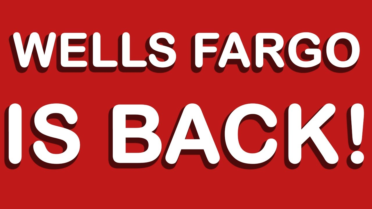 Ppp Loan Application Wells Fargo Re Opens Loan Applications Youtube