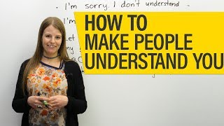 Conversation skills: a quick & easy way to make people understand you