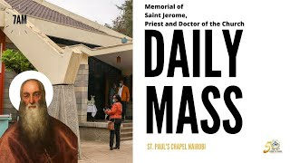 LIVE DAILY MASS | WEDNESDAY 30TH SEPTEMBER 2020 | ST. PAUL'S UNIVERSITY CHAPEL, NAIROBI