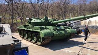 Exhibition of military equipment of Russia Russian Tank