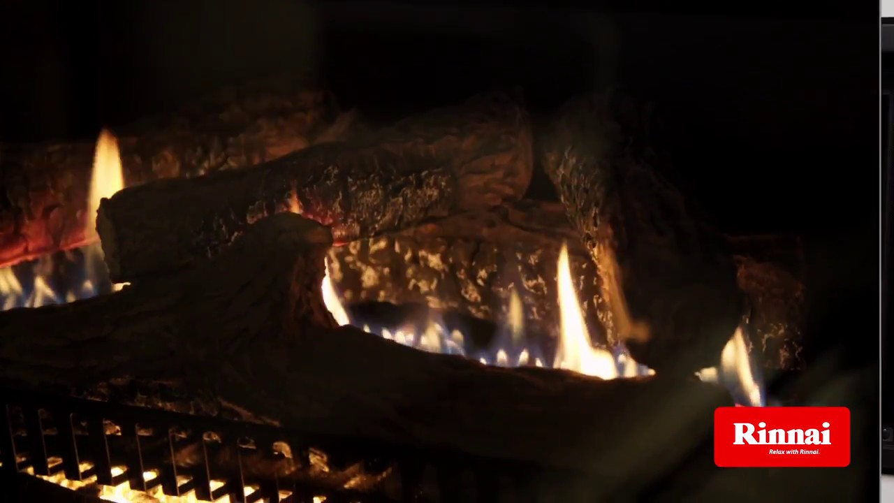 rinnai 650 u0026 750 gas log fires easy install into existing fire
