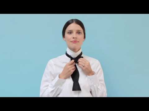 How To Tie Bow Tie Tutorial