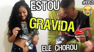 Baixar ESTOU GRAVIDA E ELE CHOROU MUITO ♥ #EP2