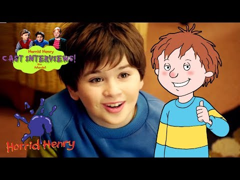Horrid Henry the Movie: Interviews and Premier