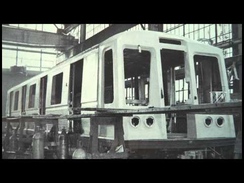 R-40 (1967) Kaleidoscope - HD Brighton Line 2008
