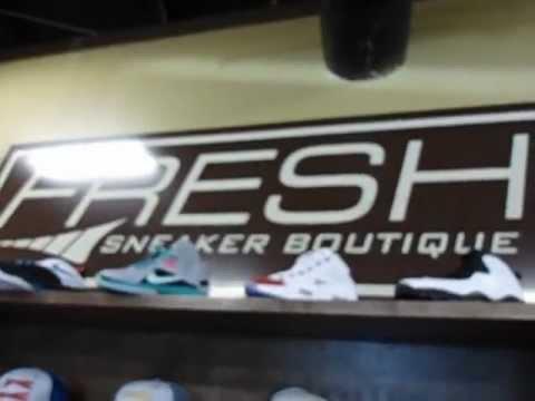 cef0e4bead5d1f Inside FRESH Sneaker Boutique - YouTube
