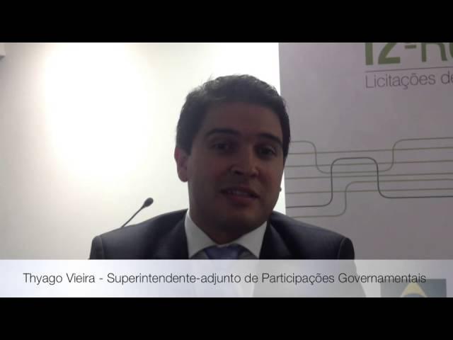 Superintendente-adjunto de Participações Governamentais comenta Seminário da 12ª Rodada