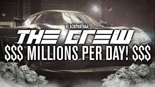 THE CREW | MAKE EASY MONEY IN THE CREW! | EARN MILLIONS A DAY