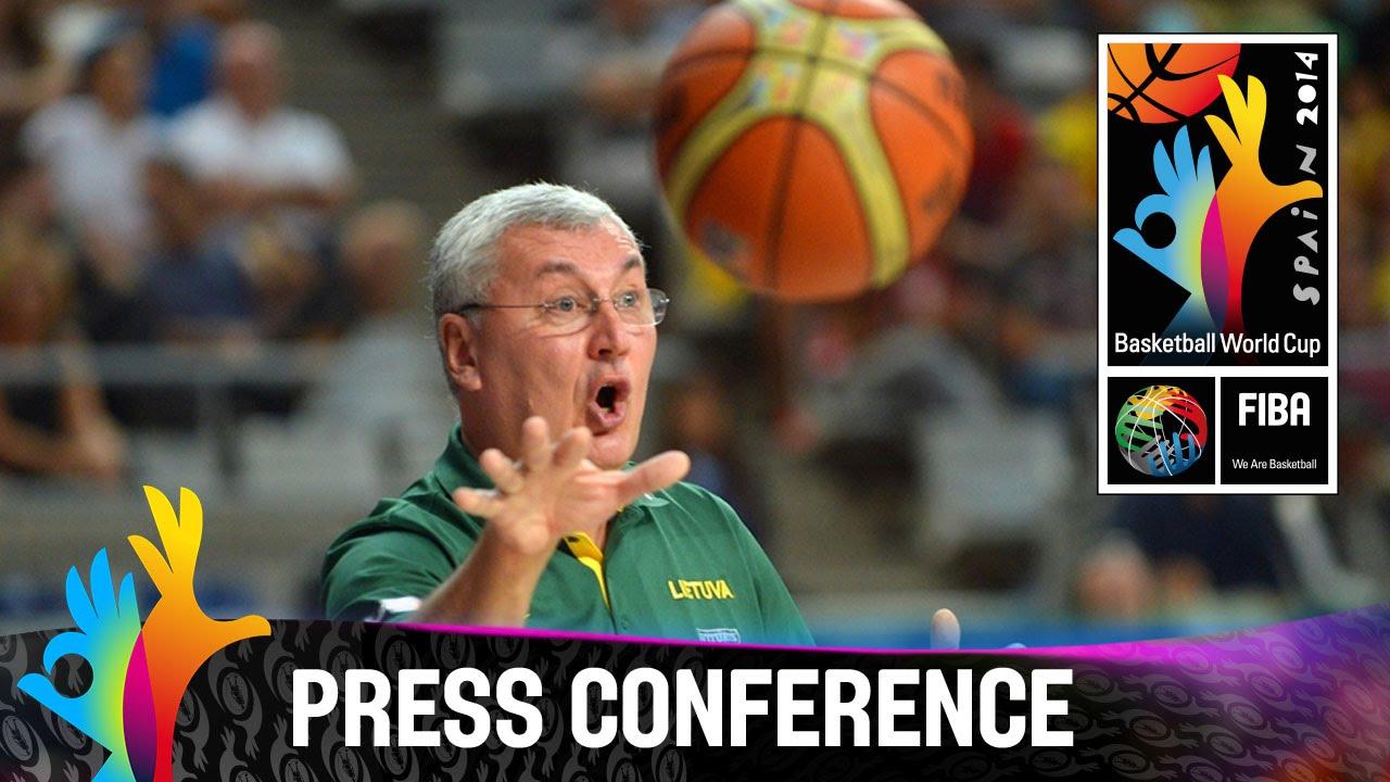 USA v Lithuania - Post Game Press Conference