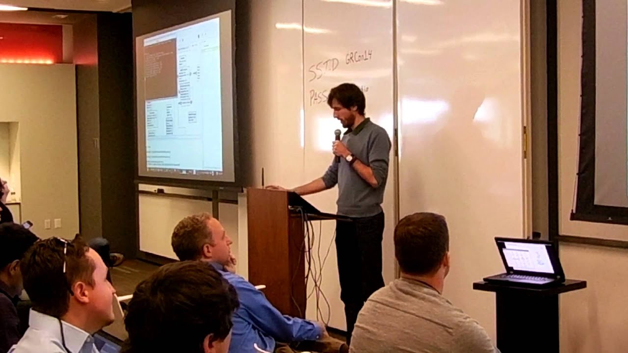First public demo of the USRP E310 at GRCon'14