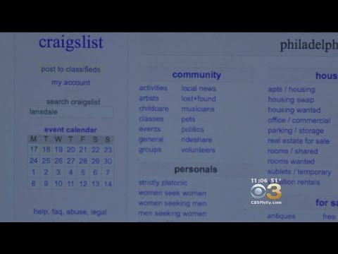 Police: Pennsylvania Man Searching for Companion On Craigslist Is