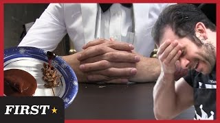 GOURMET INSECT DINING NIGHTMARE *GROSS WARNING*