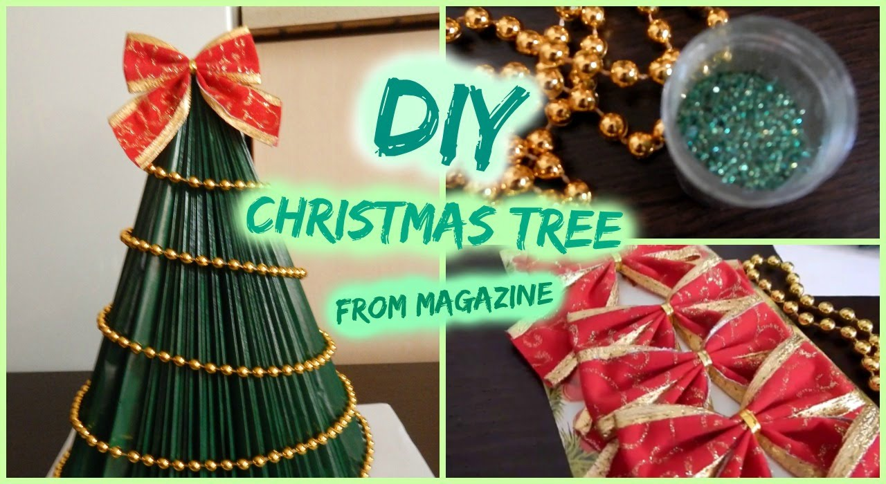 DIY- Christmas Tree From Magazine