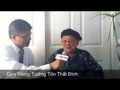 Phỏng Vấn Cựu Trung Tướng Tôn Thất Đính va Giáo Sư Nguyên Trung