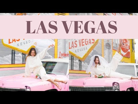 Las Vegas, Baby | Getting Married, Magic and Flying Over The Grand Canyon