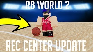 AGGIORNAMENTO DI INSANE REC CENTER RB MONDO 2 (ROBLOX)