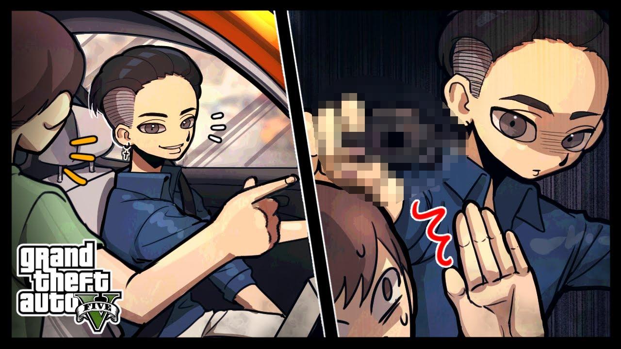 손님을 납치해서 XX하는 택시 (GTA5 인생모드 3화)