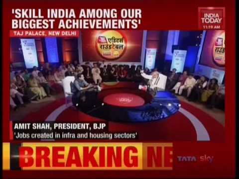 BJP National President at Editor's Roundtable at India Today