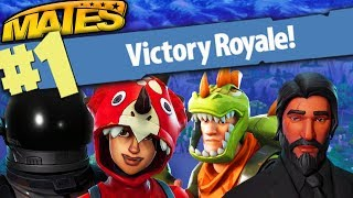 FIRST REAL VITTORY OF MATES ON FORTNITE!