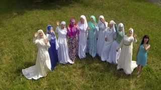 Презентация свадебного платья в татарском стиле для никаха от праздничного агенства ТУЙ