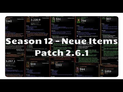 Download Youtube: Patch 2.6.1: Alle neuen Items für Season 12