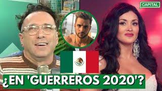 """Carlos Galdós sobre Michelle Soifer: """"¡Dios se apiada de nosotros! Su nombre suena en México"""""""
