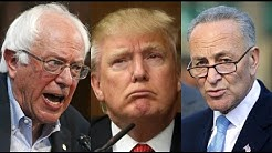 Bernie Sanders ALREADY Taking On Trump's Scam As Dems Roll Over