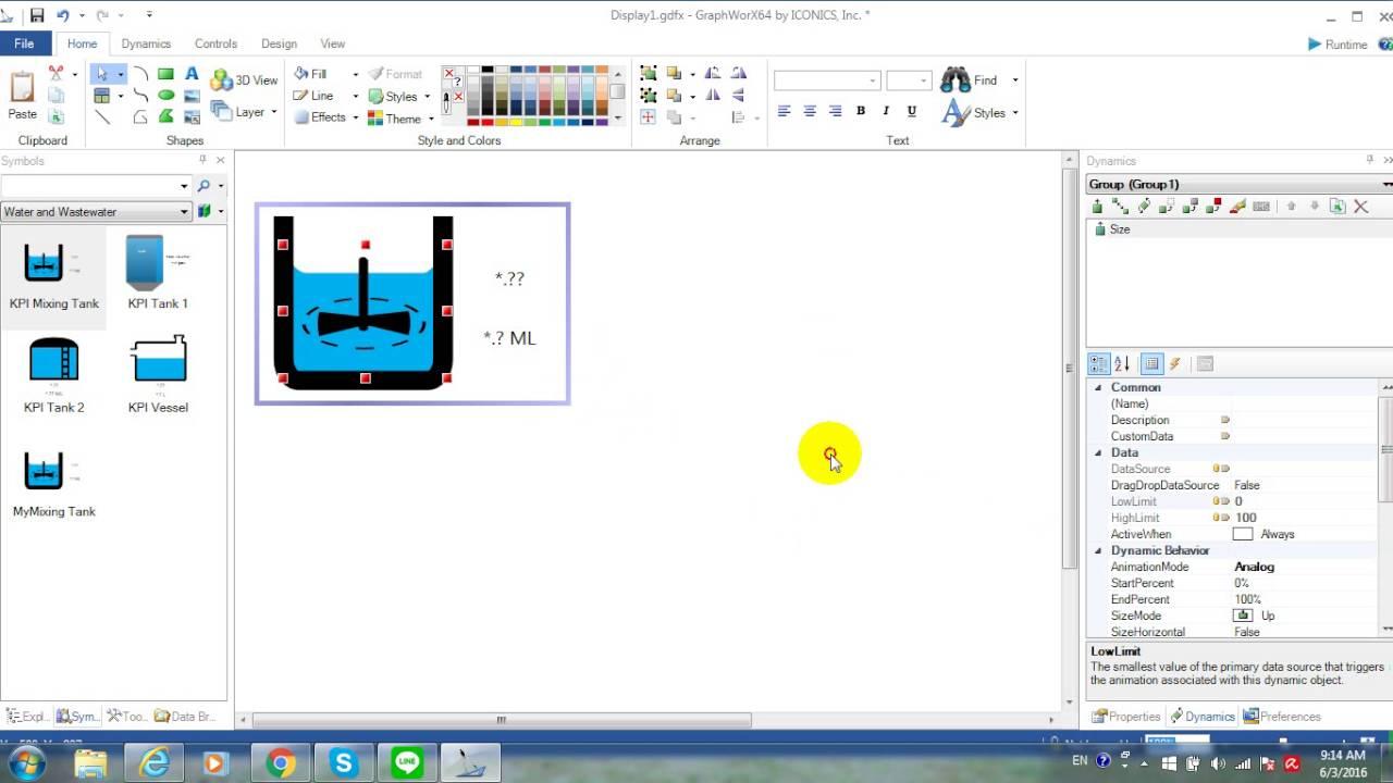 Kpiworx genesis64 scada create your own symbol for kpiworx youtube biocorpaavc Gallery