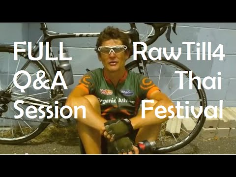 FULL DURIANRIDER Q&A Session - 04/07/2014 - at the RawTill4 Thai Fruit Festival in Chiang Mai