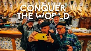 CONQUER THE WORLD yellow big machine