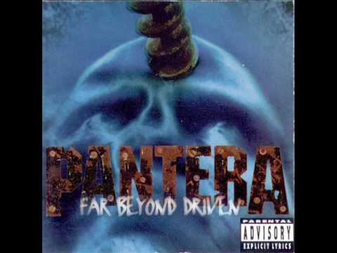 Pantera - Hard Lines, Sunken Cheeks (With Lyrics)