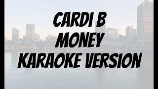 Cardi B Money Karaoke version