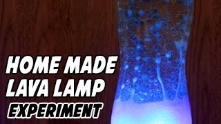 How To Make A Home Made Lava Lamp For Kids