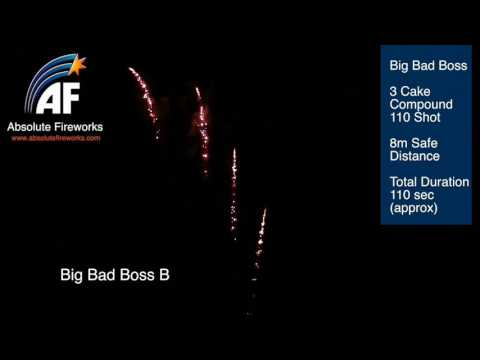 Big Bad Boss by Absolute Fireworks at Jordans Fireworks