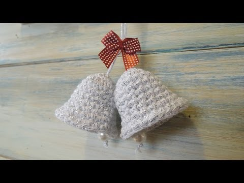 Crochet How To Crochet A Christmas Bell Decoration