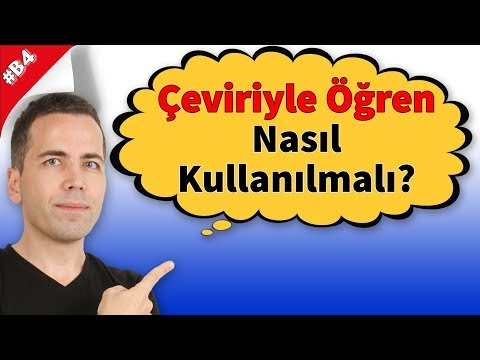 Çeviri Kitabı 'Çeviriyle Öğren' Nasıl Kullanılmalı?