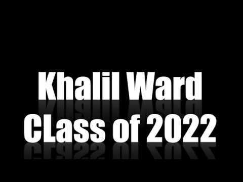 Khalil Ward 19'-20' Richmond Christian School Highlights Class of 2022