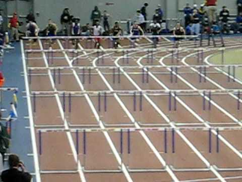 2009 GLIAC Men 60m hurdles finals
