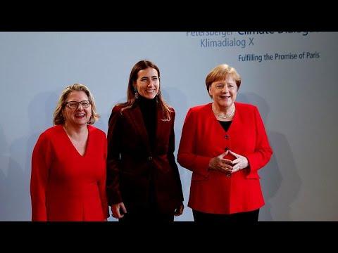 Angela Merkel vise aussi la neutralité carbone d'ici 2050