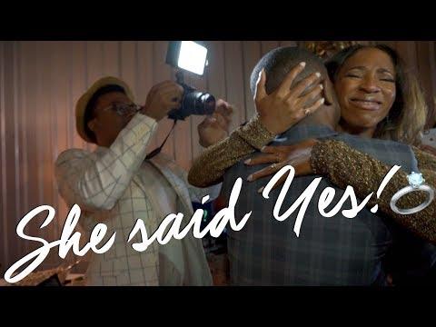 AsToldByAshley! ⇢  Sweetest Surprise Marriage Proposal Ever!