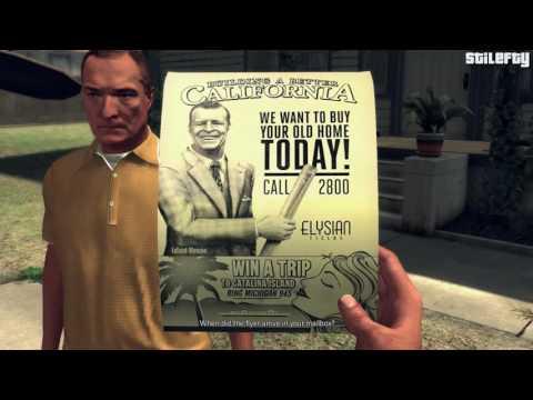 LA Noire - Case #18 - A Walk in Elysian Fields [5 Stars]