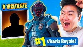 I GOT THE SKIN [SECRET] FROM THE FILMING AND I WON THE TRAP!! -Fortnite Bataille Royale