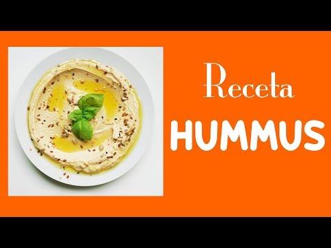 Cómo hacer Hummus de Garbanzo. Rápido y Fácil