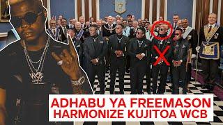 ADHABU KALI YA FREEMASON JUU YA HARMONIZE KUJITOA WCB INATISHA