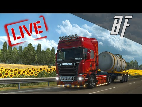 [LIVE] Euro Truck Simulator 2   Multijoueur avec la Team !