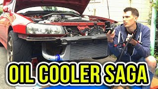 THE NISSAN SKYLINE (the gift that keeps on giving) - Oil & Power Steering Cooler