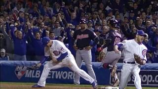 """2016 Chicago Cubs recap with the song """"All The Way"""" by Eddie Vedder"""