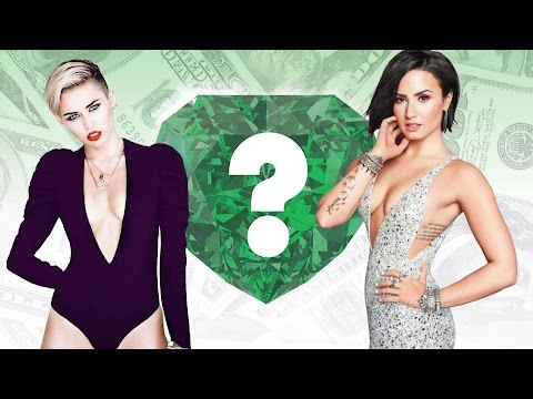 WHO'S RICHER? - Miley Cyrus or Demi Lovato? - Net Worth Revealed!
