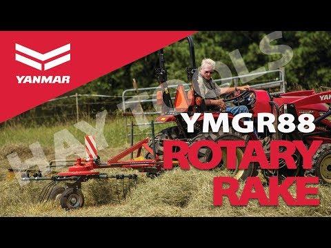 Hay Tools 2: Yanmar YMGR88 Compact 3-in-1 Rotary Rake for